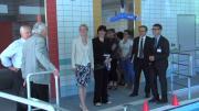 Ségolène Neuville visite les infrastructures pour personnes à mobilité réduite en Savoie