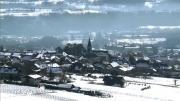 La Place du Village : Sur les coteaux de Saint Pierre d'Albigny (Combe de Savoie)