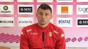 Mathieu DUHAMEL s'exprime avant la rencontre à Lyon