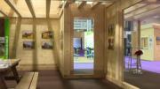 """Le Salon """"Habitat et Jardin"""" de Chambéry a mis en valeur le bois cette année"""
